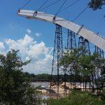 Dekati Masa Akhir Perpanjangan Kontrak, Proyek Jembatan Trucuk Macet