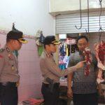 Jelang Lebaran Kapolres Pantau Langsung Harga Sembako dan Daging di Pasar