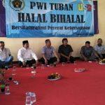Pererat Silaturahmi PWI Tuban Gelar Halal Bi Halal