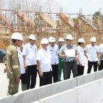 Tinjau Proyek TSC Tuban, Wabup Optimis Selesai Tepat Waktu
