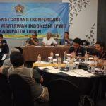 Aklamasi, Pipit Kembali Pimpin PWI Tuban Periode 2018-2021
