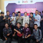 Kompaknya PWI Tuban dan Bupati Fathul Huda di Acara HPN Surabaya
