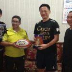 Timnas Rugby Jepang Beri Pelatihan di SMKN 1 Baureno