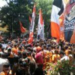Ratusan Suporter Persibo Geruduk Kantor DPRD dan Pemkab Bojonegoro