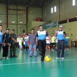 Bupati Opening Turnamen Futsal Wartawan