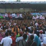 Membludak, Puluhan Ribu Massa Hadiri Kampanye Terbuka Jokowi Maruf Di Serang