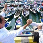 Di Balikpapan Jokowi Ajak Pendukungnya Lawan Hoax