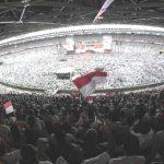 Kampanye di Konser Musik Putih, Satu Juta Lebih Pendukung Jokowi Putihkan GBK