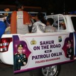 Polres, Kodim dan Satpol PP Bojonegoro Patroli Oklik Sahur On The Road