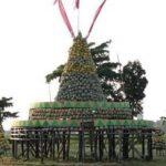 Petani Tuban Bagi-bagi Gratis 4,5 Ton Buah Melon