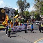 Aksi Unras PMII Tuntut Realisasi KPM