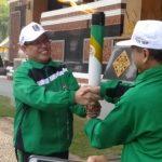 Wakil Bupati Tuban Lepas Perjalanan Api Porprov ke Lamongan
