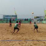 Tim Volly Pantai Putra dan Putri Tuban Lolos Semi Final
