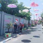 Warga Meliwis Putih Kelurahan Ngrowo Launching Kampung Lontong Lodeh