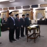 Pimpinan DPRD Tuban 2019 – 2024 Dilantik