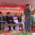 Ketua DPRD Tuban Pimpin Upacara Sumpah Pemuda