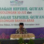 Kafilah Tuban Ikuti Musabaqah Hifdzil Quran 30 Juz