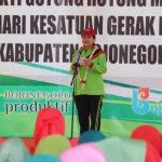 Peringatan BBGRM XVI Dan HKG PKK Ke-47 Tingkatkan Semangat Gotong Royong