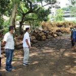 Sosialisasi Bahaya Covid-19 ke Pekerja TPK, Perhutani KPH Tuban Bagikan Sembako