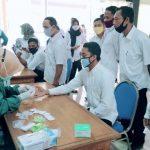 ASN Dan Tenaga Harian Lepas Dinas PU Bina Marga Ikuti Rapid Test