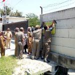 Tidak Kantongi Izin, Pembangunan Gedung PT. Elnusa Dihentikan Paksa Satpol PP